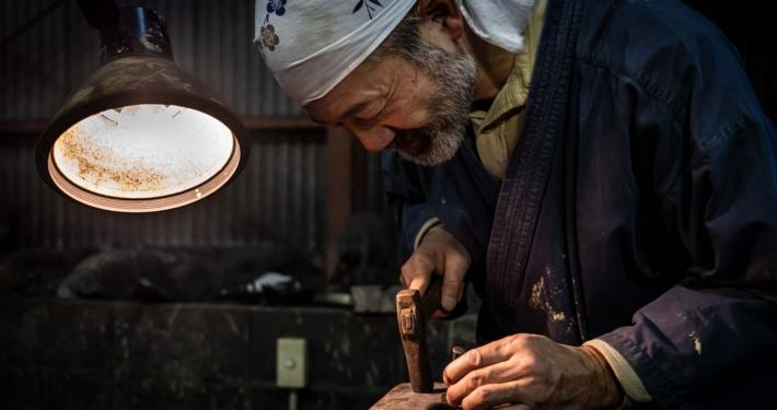 Knife-making in Kochi Japan