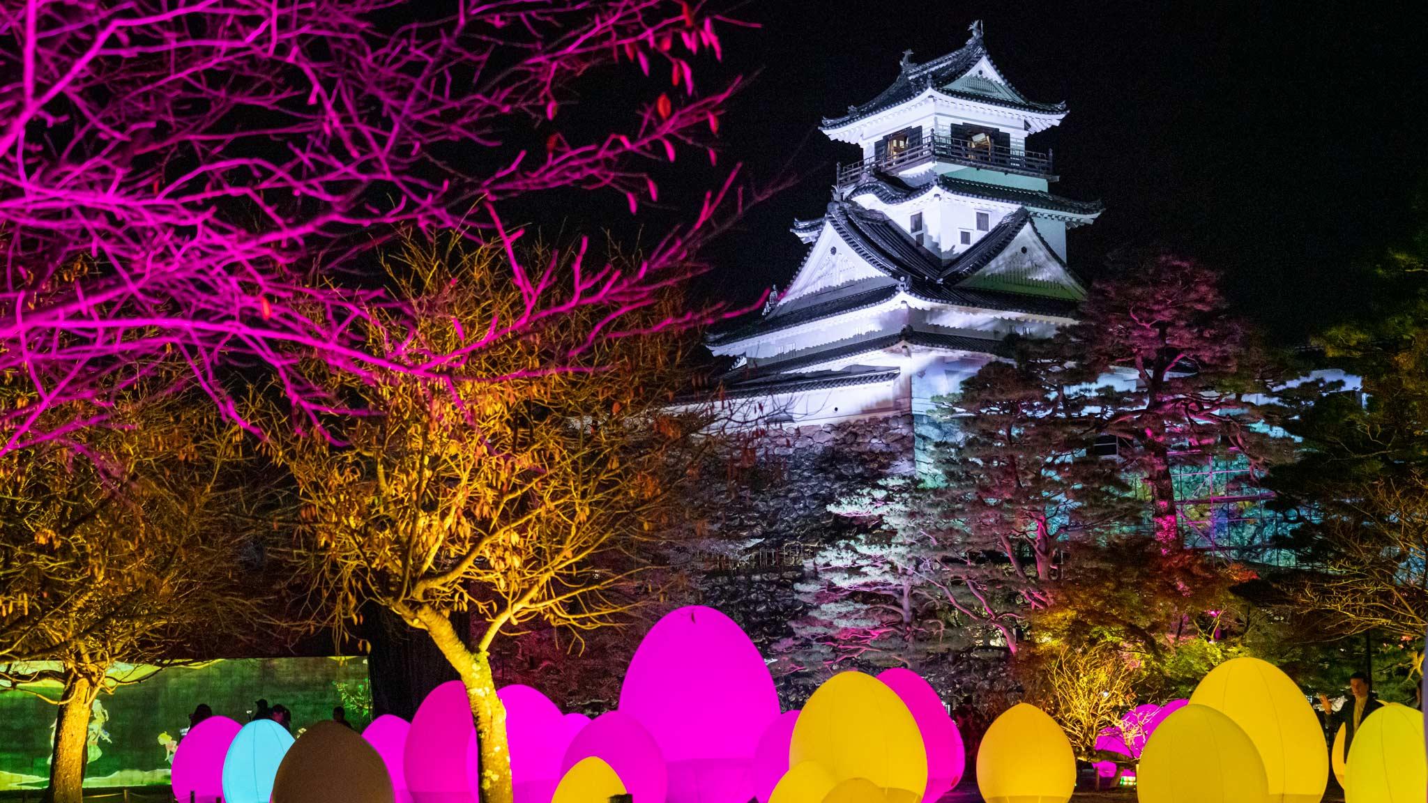 Kochi Castle TeamLab Digital Art
