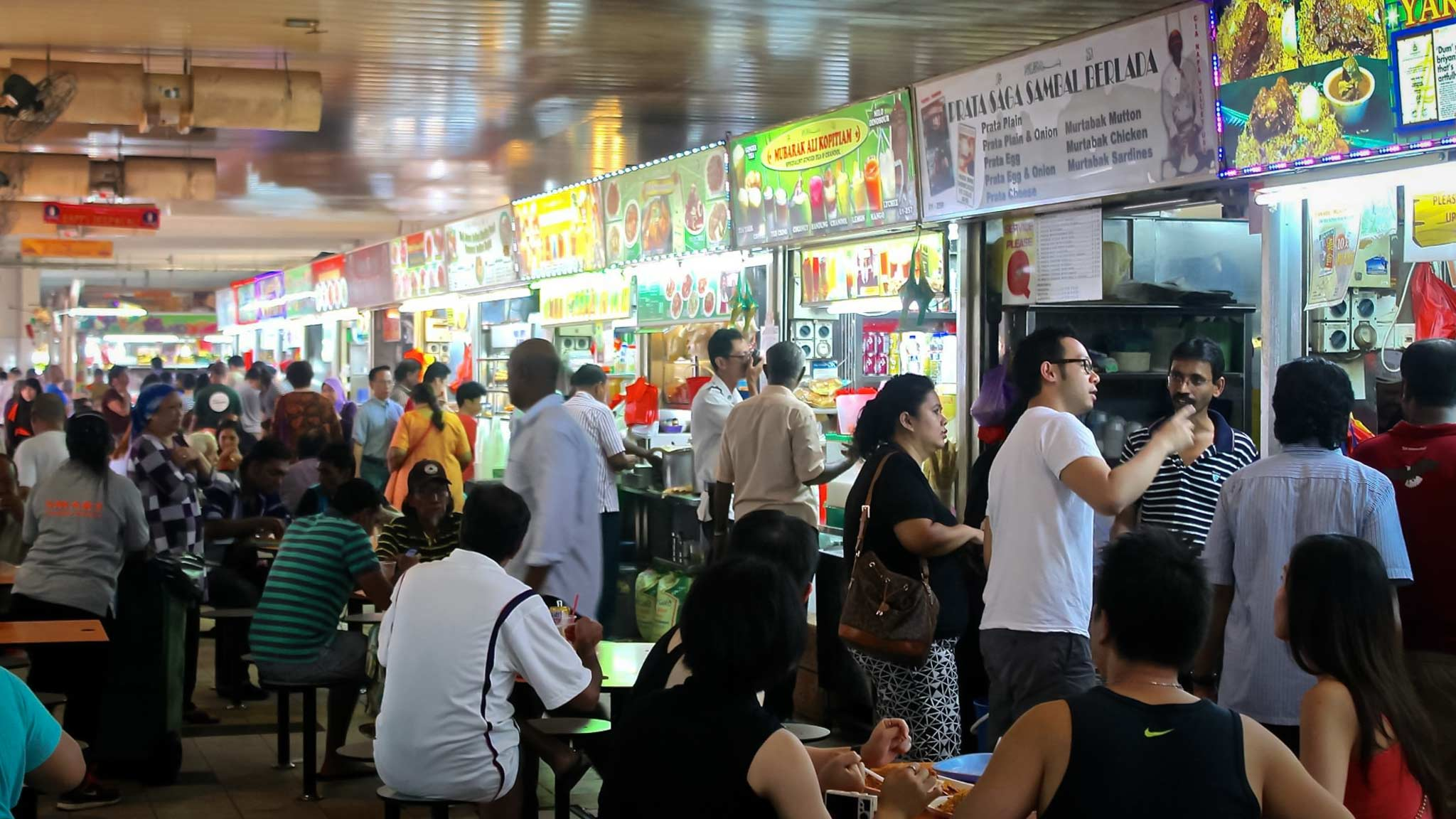 Hawker Markets in Singapore