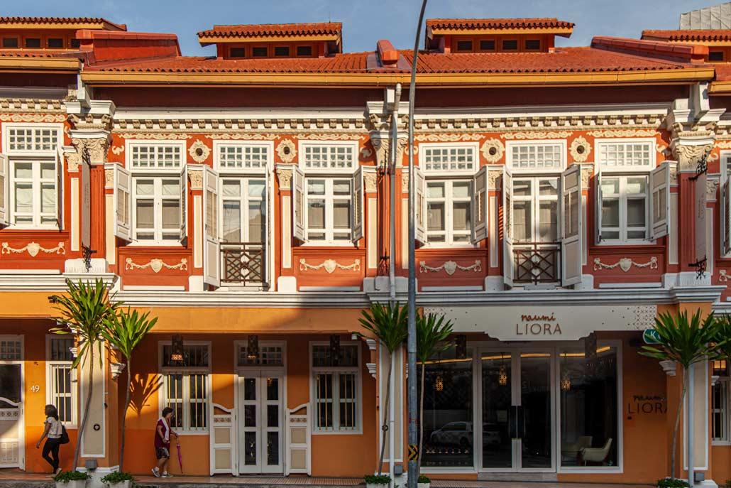 Colourful exterior of Naumi Liora