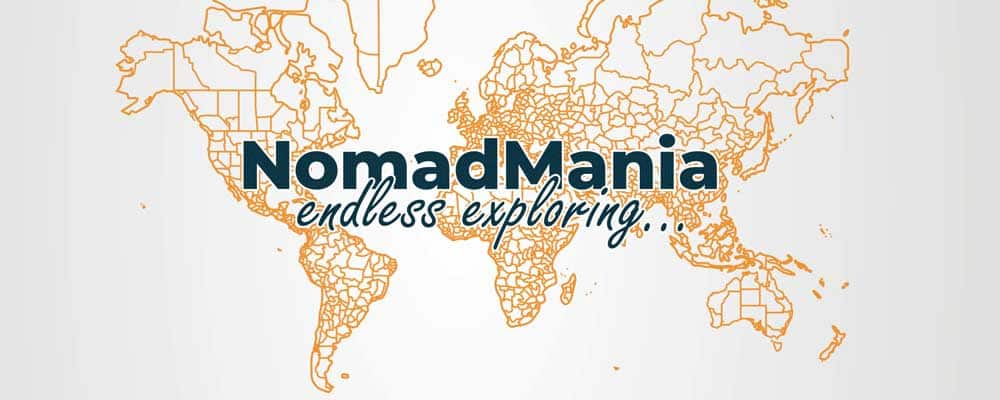 NomadMania - website cover