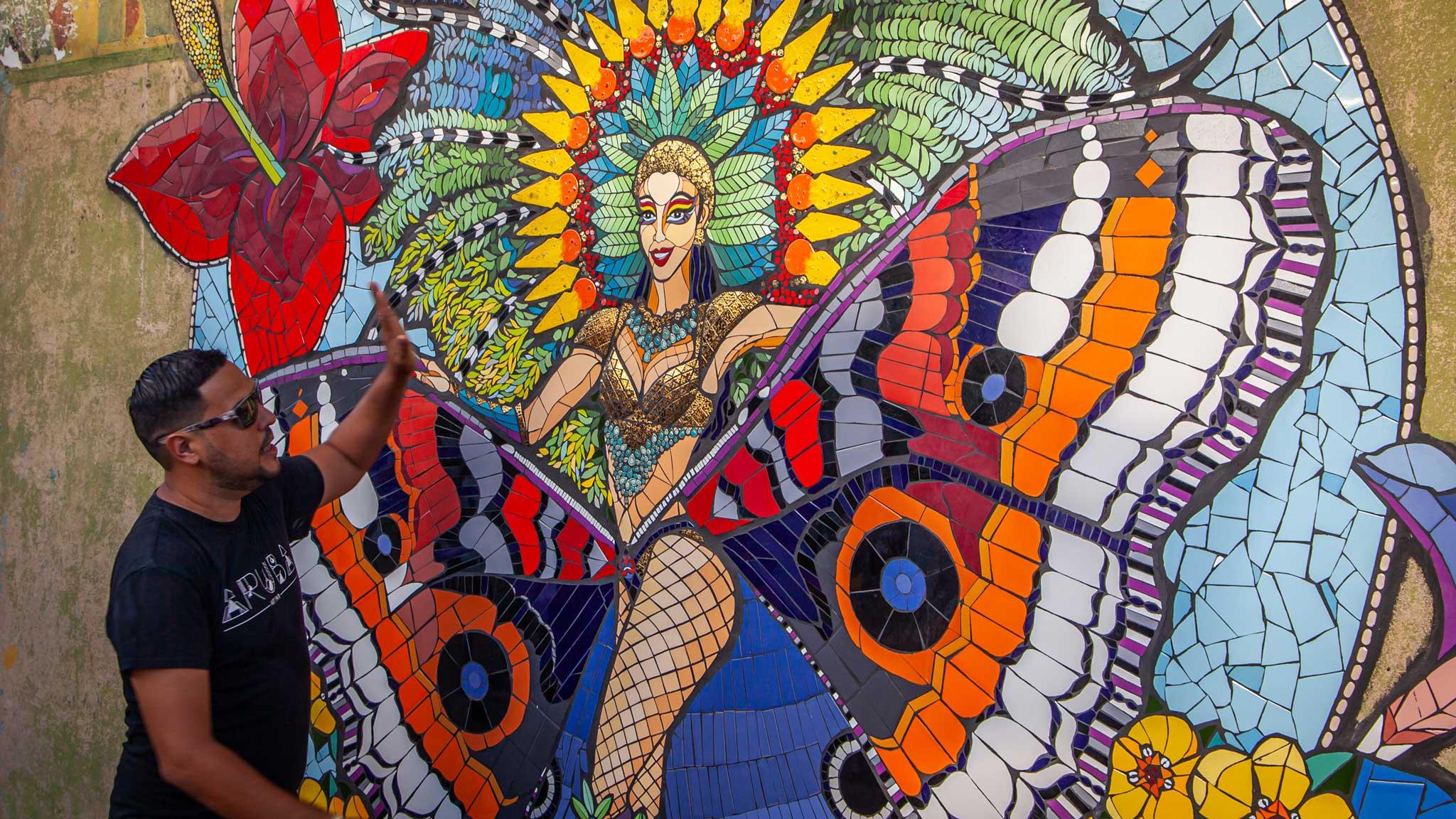 Aruba San Nicolas Street Art