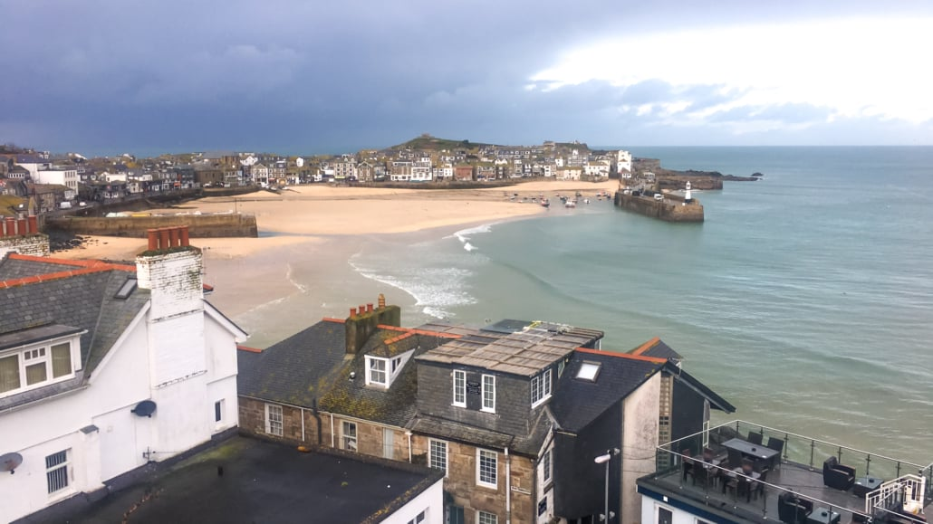 Picturesque St Ives in Cornwall
